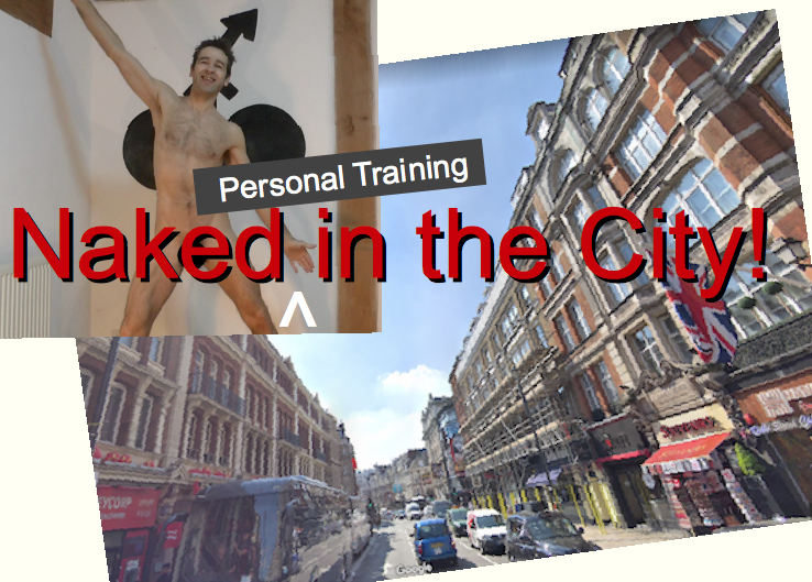 London personal trainer naked for personal training London