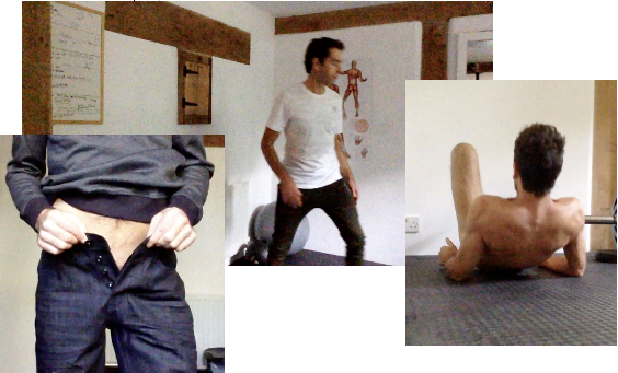 Gay London Personal Trainer showing specialist workouts such as erection training.